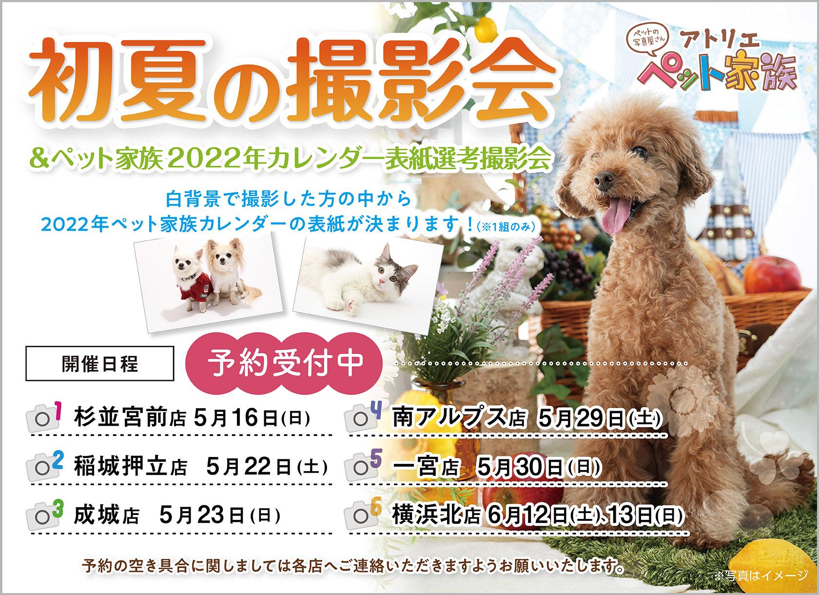 初夏の撮影会 開催!